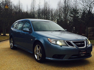2009 Saab 9-3 2.0T Wagon 4-Door free shipping wagon 1 owner clean carfax cheap luxury wagon rare loaded warranty