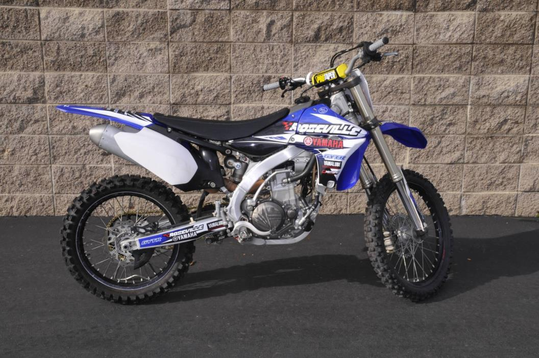 2011 yz 450f motorcycles for sale for Yamaha of roseville