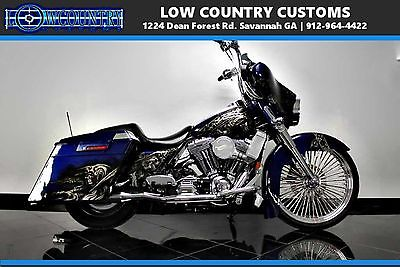 Harley-Davidson Street Glide™  touring 23 26 30 custom paint supercharge chrome bagger