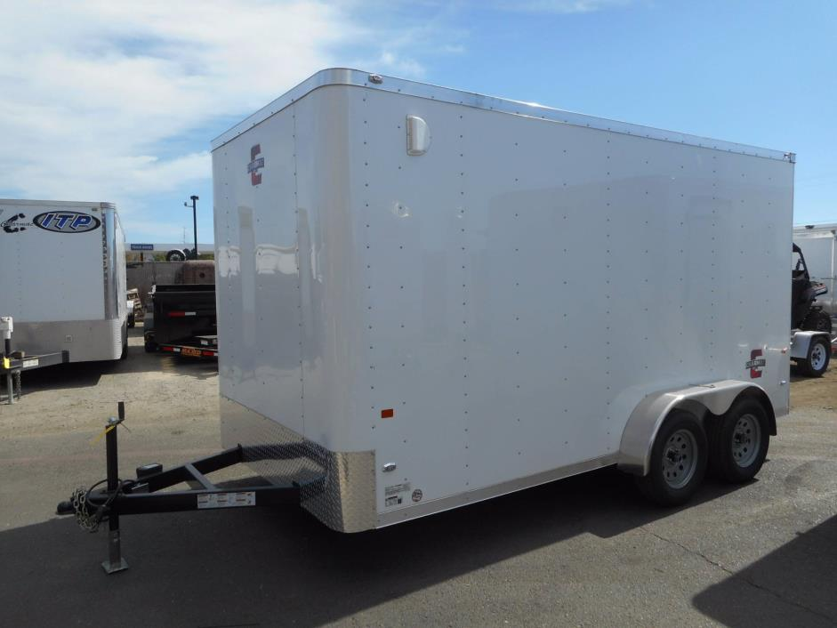 2016 Charmac Trailers 7x14 Stealth Cargo