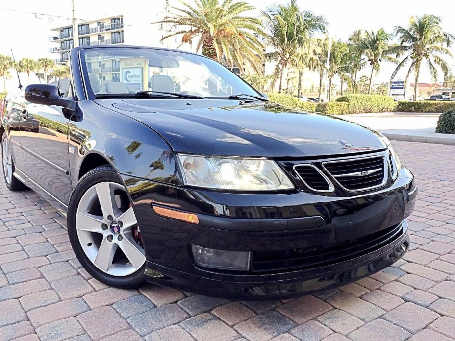 2006 Saab 9-3 aero 2006 Aero Convertible, Excl. Cond., 2nd Owner, All records, Price just reduced!