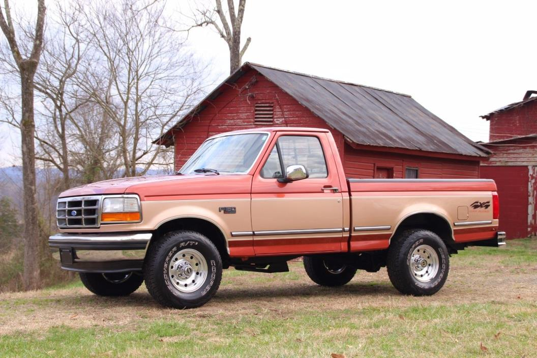 1994 ford f150 xlt 4x4 cars for sale. Black Bedroom Furniture Sets. Home Design Ideas
