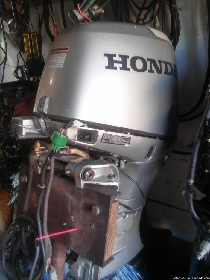 Used outboard motor prop boats for sale for Used honda boat motors for sale