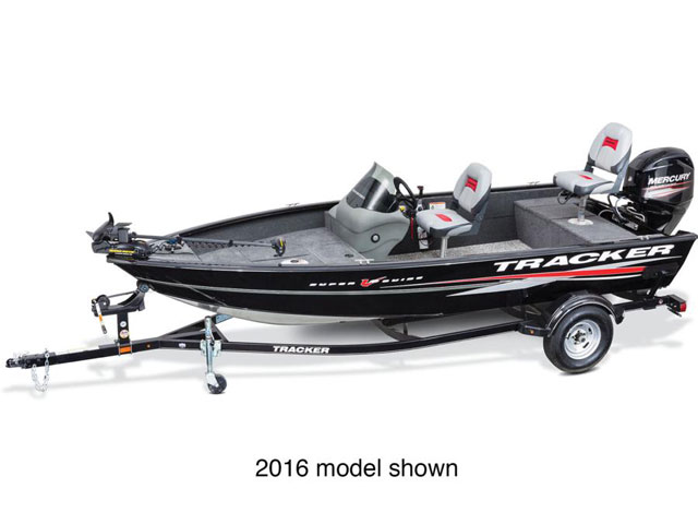 2017 TRACKER BOATS SUPER GUIDE V-16 SC