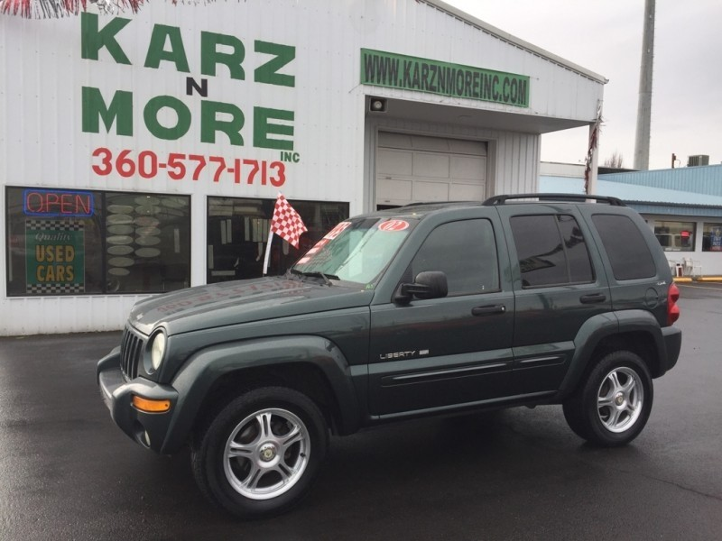 2002 Jeep Liberty 4dr Limited 4WD,Full Power,Sharp !!!