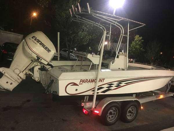 2017 Paramount 21 CC SUPER FISHERMANCC