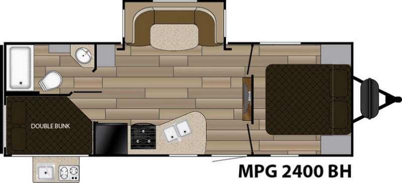 2017 Cruiser MPG 2400BH