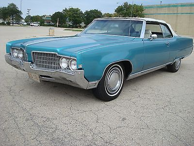 1969 Oldsmobile Ninety-Eight ninety eight 455 convertible 1969 Oldsmobile ninety eight 455 convertible original car with low miles clean