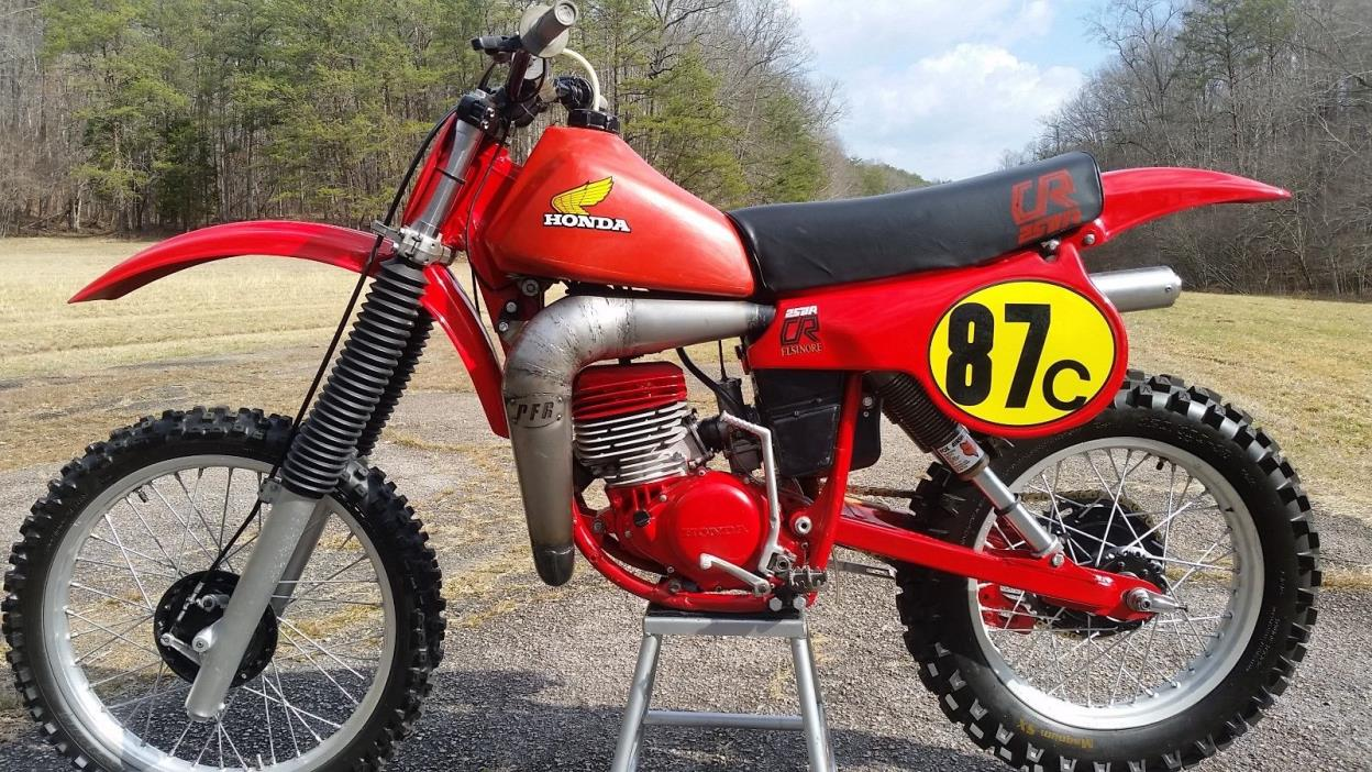 1980 Cr250 Honda Motorcycles for sale