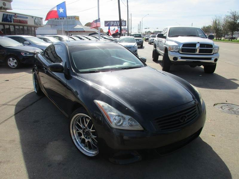 2008 Infiniti G37 Base 2dr Coupe