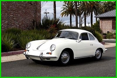 1965 Porsche 356 1965 PORSCHE 356 1600 SC REUTTER COUPE 1965 PORSCHE 356SC ELECTRIC-SUNROOF COUPE 1 OWNER #MATCH GARAGED SOLID METAL
