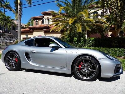 2015 Porsche Cayman 2015 CAYMAN GTS PDK 12000 MILES GT SILVER LOTS OF OPTIONS