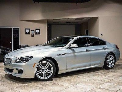 2013 BMW 6-Series Base Sedan 4-Door 2013 BMW 650i xDrive GranCoupe $105k+MSRP M SPORT PKG FULL LED HEADLIGHTS LOADED