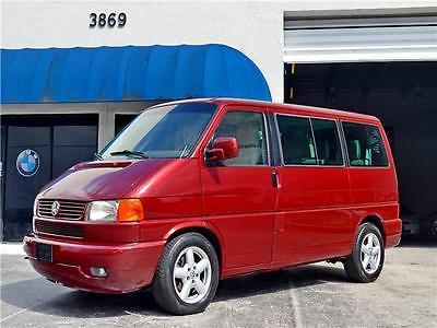 2002 Volkswagen EuroVan GLS 2002 VOLKSWAGEN EUROVAN 1 OWNER CLEAN HISTORY GLS AUTOMATIC WARRANTY