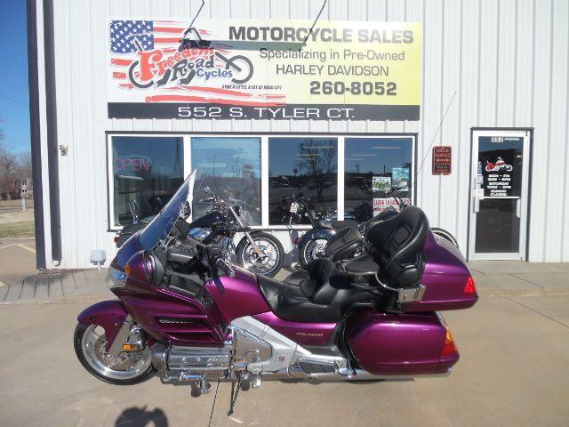 honda goldwing motorcycles for sale in wichita kansas. Black Bedroom Furniture Sets. Home Design Ideas