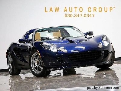 2006 Lotus Elise Base Convertible 2-Door 17K MLS!*SPORT/TOURING PCKS!*STARSHIELD*HID'S/R-DIFFUSER/CARBON SILLS&FRONT LIP
