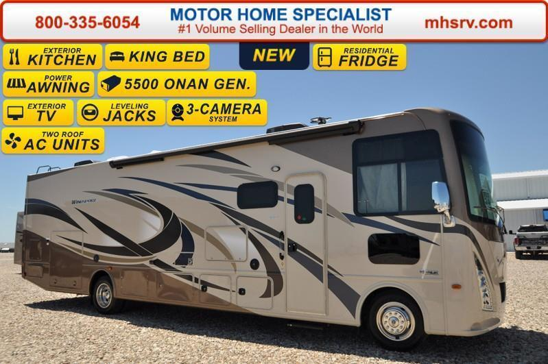 2017 Thor Motor Coach Windsport 34F W/King Bed Ext Kitchen &