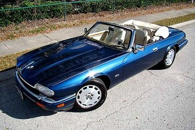 1996 Jaguar XJS 2+2 Convertible 2-Door 1996 JAGUAR XJS 2+2 ONLY 53,000 LOW MILES! LAST YEAR! SUPER CLEAN! BEAUTY!