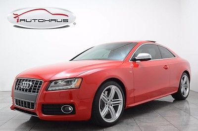 2012 Audi S5 Base Coupe 2-Door Navigation Bluetooth HID Heated Seats