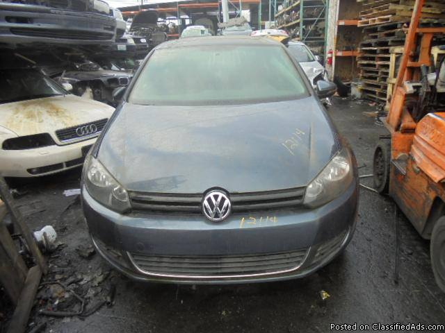 Parting out - 2011 VW Golf - Parts - Stock 12114