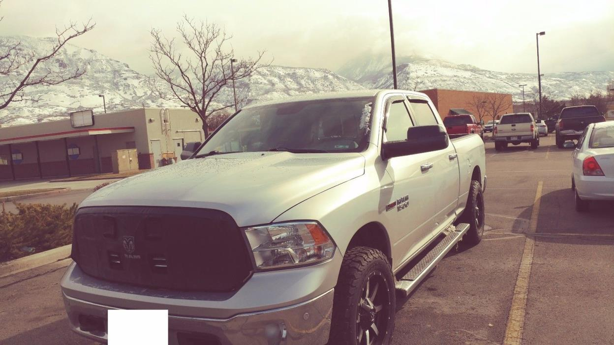 2014 Dodge Ram 1500 Big Horn Loaded 2014 Dodge Ram 1500 Big Horn Loaded Eco Diesel BFG KO2 Tires New 20' Fuel Wheels
