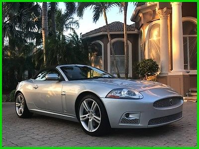 2007 Jaguar XKR Base Convertible 2-Door 2007 Jaguar XKR Convertible 45K MILES! NAVIGATION! LOW MILES! ONE OF A KIND!