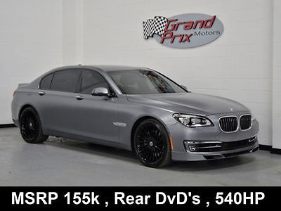 2014 BMW Alpina B7 2014 Alpina B7 LWB 560hp WARRANTY Low 14k miles Frozen Grey B&O Sound 155k MSRP