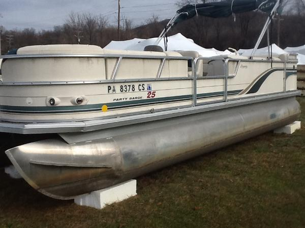 2003 Sun Tracker PARTY BARGE 25 Regency Edition