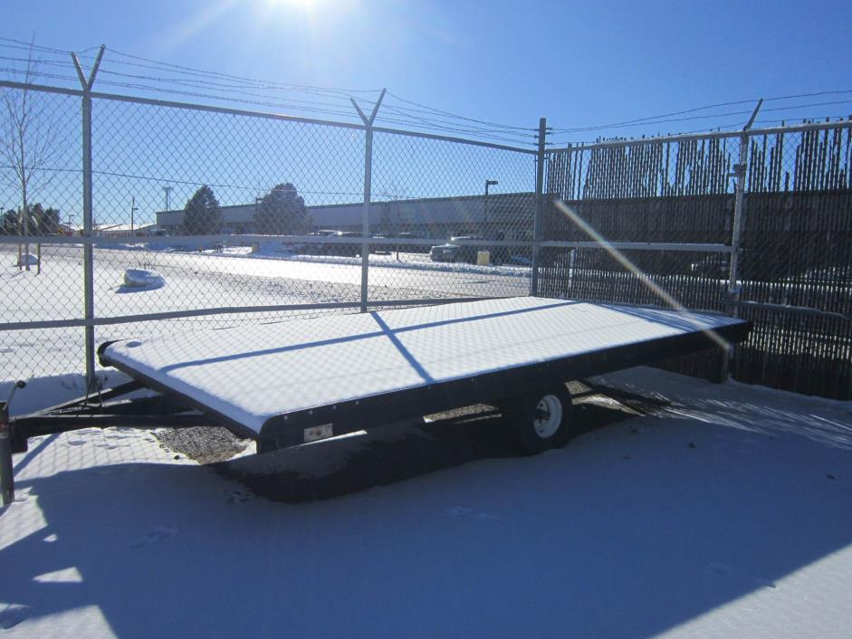 1997 Yacht Club Snowmobile / Platform Trailer