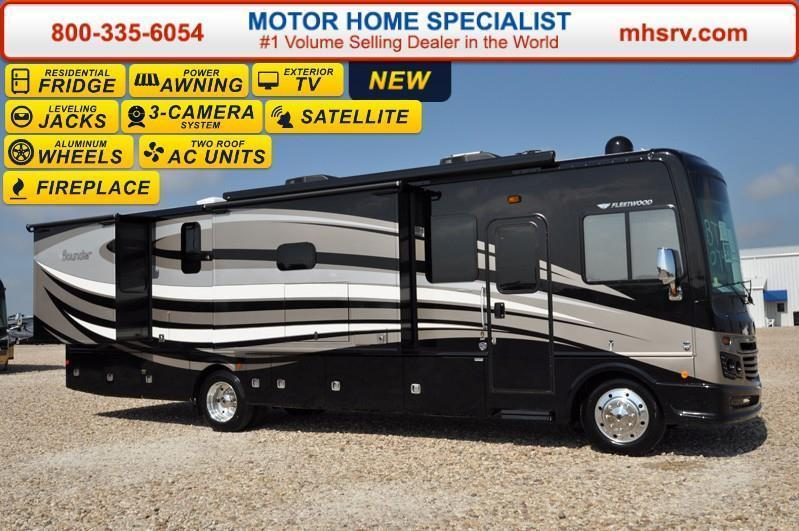 2017 Fleetwood Bounder 34T W/3 Slides LX Package Res
