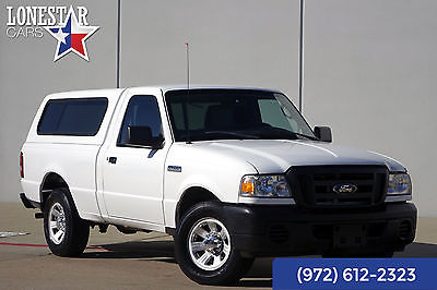 2011 Ford Ranger 2011 White XL Clean Carfax One Owner!