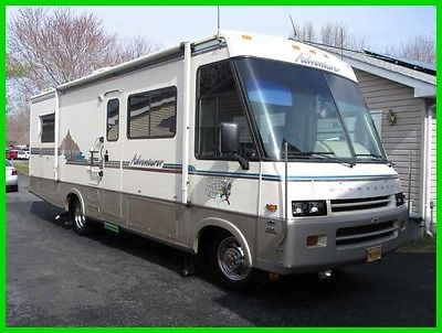 1994 Winnebago Adventurer 29RQ 30' Class A RV Gasoline Kitchen Tow PKG DELAWARE