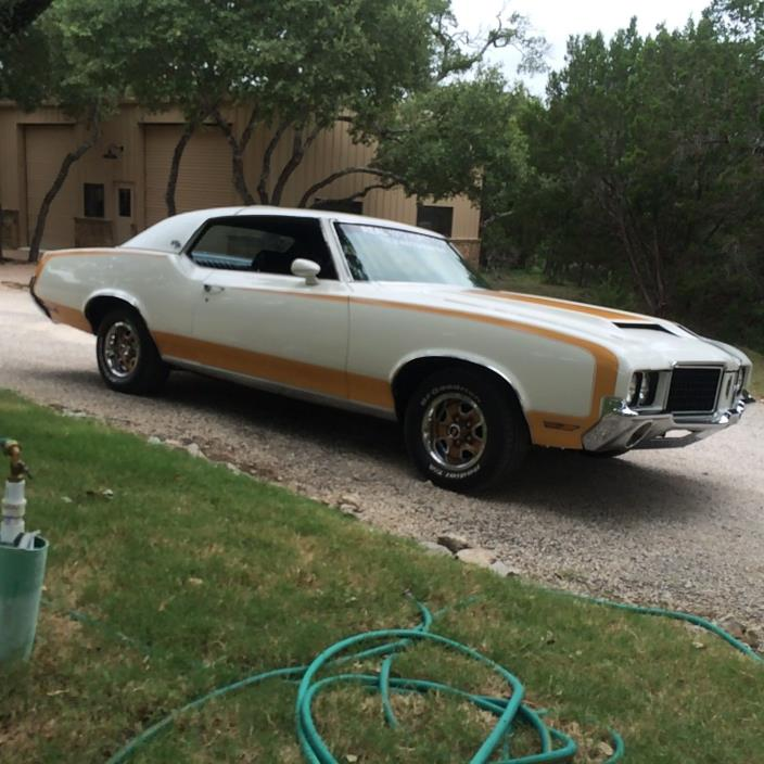 1972 Oldsmobile 442 Hurst Hurst Olds not a 442. Matching number 1972 Hardtop copys of build sheet