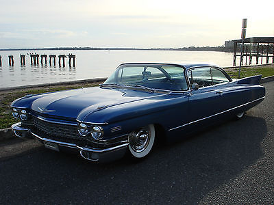 1960 Cadillac DeVille COUPE DEVILLE 1960 CADILLAC KOOL CUSTOM AIR RIDE SUSPENSION NO RUST