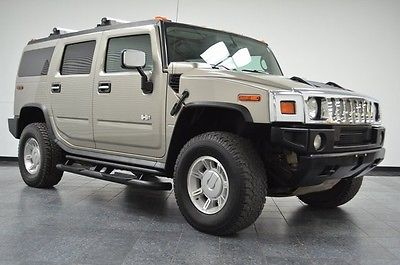 2004 Hummer H2 Luxury Model SUV 1 Owner Survivor-Great Shape! 2004 Hummer H2, Pewter Metallic with 123,073 Miles available now!