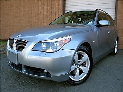 2007 BMW 5-Series 530xiT 2007 BMW 530xi Wagon - Clean Car Fax - All Wheel Drive - Navigation System