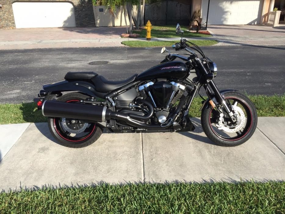 Yamaha road star warrior motorcycles for sale in florida for Yamaha motorcycle for sale florida