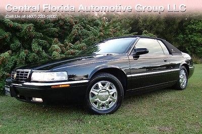 1998 Cadillac Eldorado 1998 CADILLAC ELDORADO ETC TRIPLE BLACK! ONLY 64K LOW MILES! 2 OWNERS! FLORIDA!