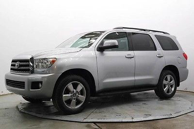 2015 Toyota Sequoia SR5 Sport Utility 4-Door R5 4X4 3rd Row R Camera Pwr Sunroof Running Boards 20in Wheels Must See Save
