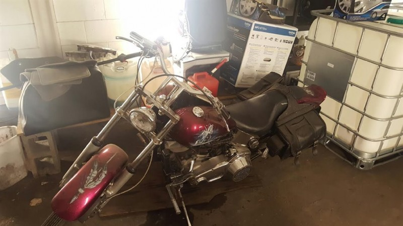 1972 Harley Davidson MC