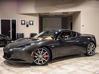 2014 Lotus Evora S Coupe 2-Door 2014 Lotus Evora S 2+2 Coupe 6-Speed MANUAL! 4700 Miles! Tech Package! Stunning!
