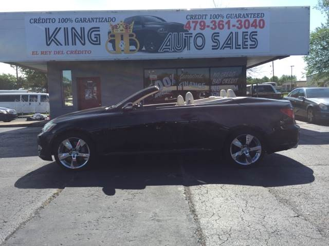 2010 Lexus IS 350C Base 2dr Convertible