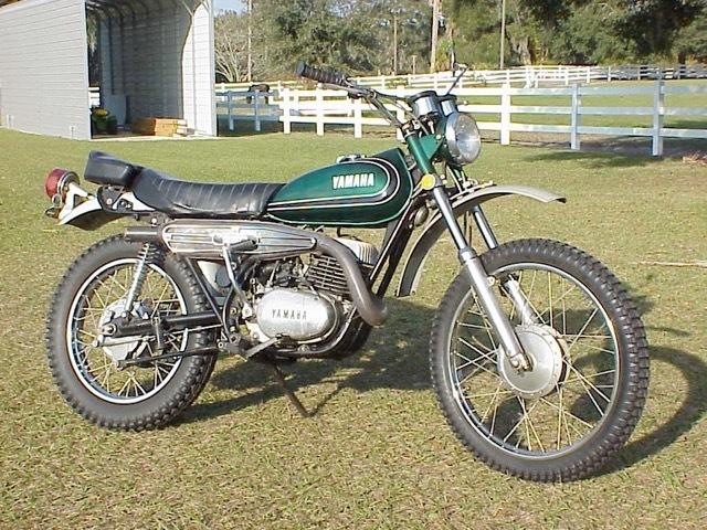 1972 Yamaha DT 250 Enduro