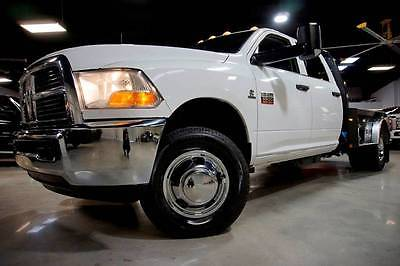 2012 Ram Ram Chassis 3500 6.7L Cummins Diesel 4x4 CM Flat bed 1owner 12 Ram 3500 Chassis 6.7L Cummins Diesel 4x4 CM Bed 1owner Carfax 133K E-Brake TX
