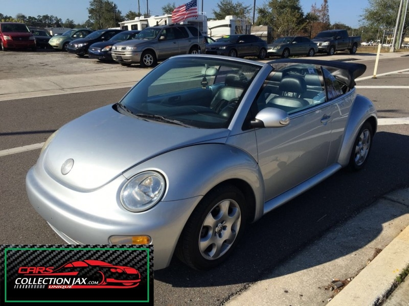 2003 Volkswagen New Beetle 2dr Convertible GLS Manual