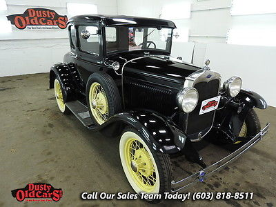 1930 Ford Model A Body Inter VGood 3.3L I4 3 spd man 1930 Black Body Inter VGood 3.3L I4 3 spd man!
