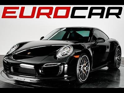 2016 Porsche 911 2016 Porsche 911 Turbo S, CERAMIC BRAKES, ONE OWNER VEHICLE, IMPECCABLE