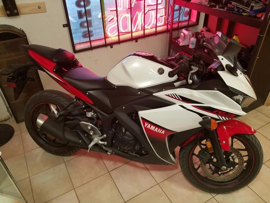 2016 Yamaha YFZ R