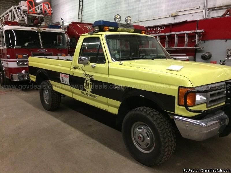 1991 Ford F-250 HD Reg. Cab 4WD