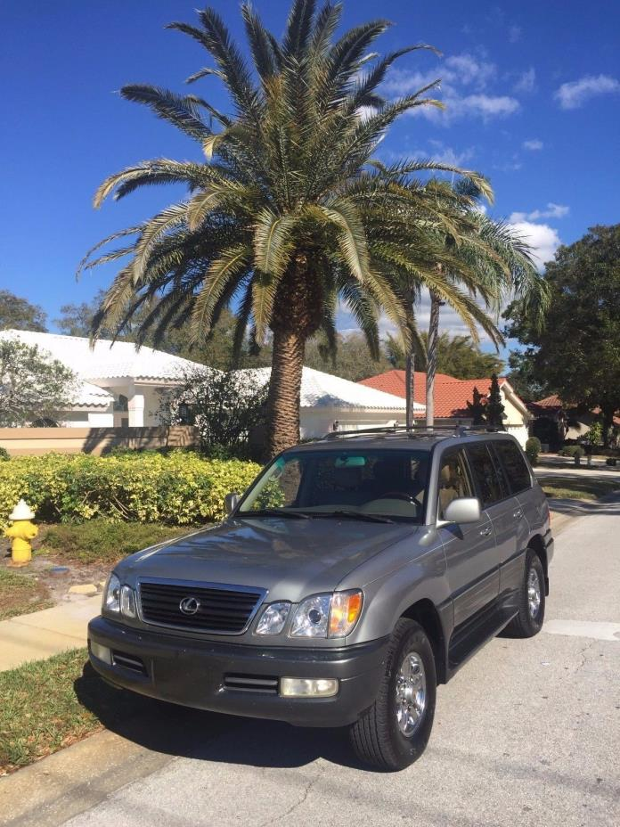 2001 Lexus LX  2001 Lexus LX 470 ****  Don't let this one get away!